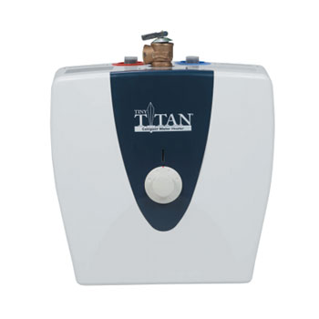American Water Heater E1E2.5US015V 2.5 Gallon Residential Tiny Titian Electric Water Heater