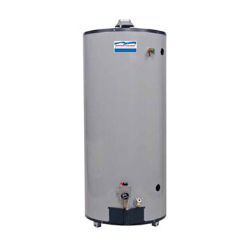 American Water Heater G62-75T75-4NV 75 Gallon Residential Natural Gas Ultra High Recovery Water Heater