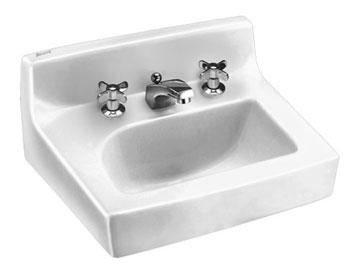 American Standard 0373.027.020 Penlyn Wall-Mount Sink 4