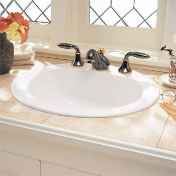 American Standard 0490.011.020 Rondalyn Countertop Sink 8