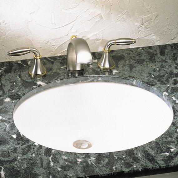 American Standard 0495.221.020 Ovalyn Undercounter Sink   White