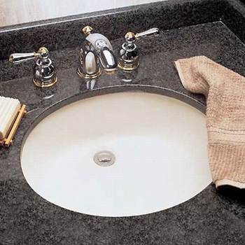 American Standard 0496-221-020 Ovalyn Undercounter Sink - White