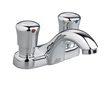 American Standard 1340.225.002 Metering Centerset Lavatory Faucet - Chrome