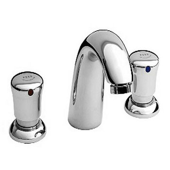 American Standard 1340.825.002 Metering Widespread Lavatory Faucet - Chrome