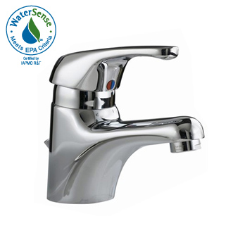 American Standard 1480.101.295 Seva Single Control Lavatory Faucet - Satin Nickel  (Pictured in Chrome)
