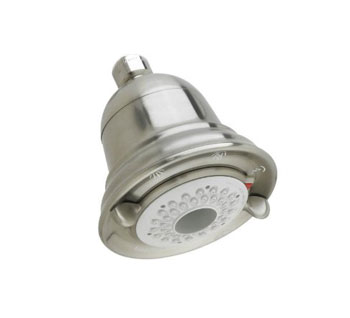 American Standard 1660.113.295 FloWise Traditional 3 Function Water Saving Showerhead - Satin Nickel