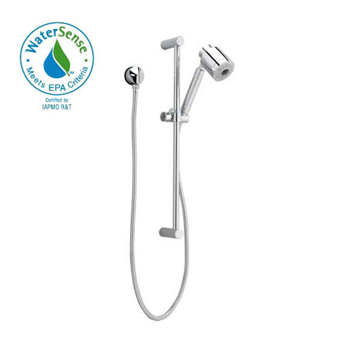 American Standard 1662.643.002 FloWise Modern Water Saving Hand Shower Kit - Chrome