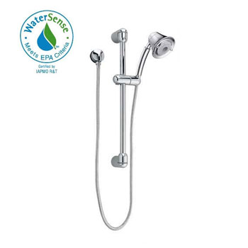 American Standard 1662.743.002 FloWise Transitional Water Saving Hand Shower Kit - Chrome
