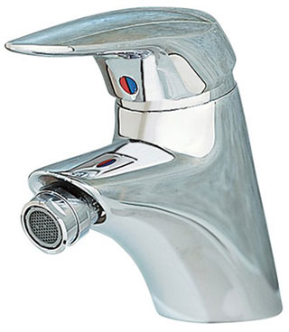 American Standard 2000.011.002 Ceramix Single Control Bidet Fitting - Chrome