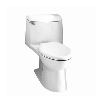 American Standard 2004.014.020 Champion 4 Elongated One Piece Toilet - White