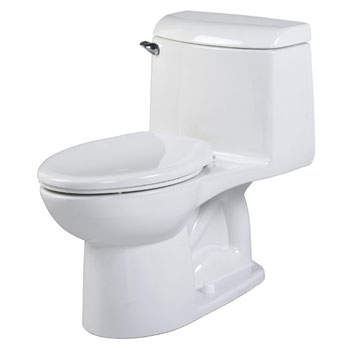American Standard 2034.014.020 Champion 4 Right Height One Piece Elongated Toilet - White