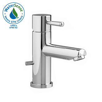 American Standard 2064 101 295 One Molock Lavatory Faucet Satin Nickel Pictured