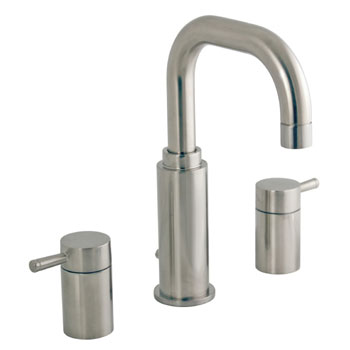 American Standard 2064.801.295 'One' Widespread Lavatory Faucet - Satin Nickel
