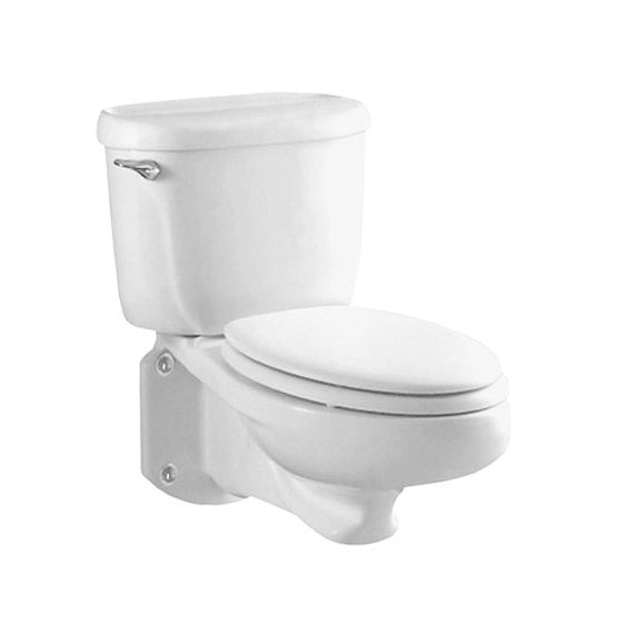 American Standard 2093.100.020 Glenwall Pressure Assisted Wall-Mounted Toilet - White