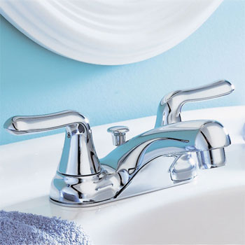 American Standard 2275-500-002 Colony Soft Lavatory Centerset Faucet Polished - Chrome