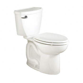 American Standard 2383.014.020 Cadet 3 Two Piece Elongated Toilet with 14