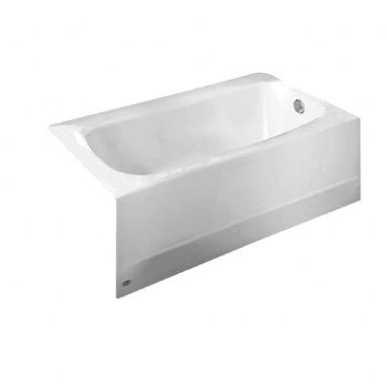 American Standard 2461.002.020 Cambridge 5' Americast Bath Tub with Right Hand Drain - White