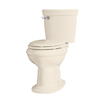 American Standard 2474.016.222 Standard Collection Right Height Elongated Toilet - Linen