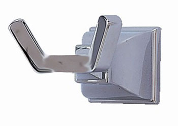 American Standard 2555.041.295 Town Square Double Robe Hook - Satin Nickel  (Pictured in Chrome)