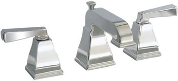 American Standard 2555.801.295 Town Square Widespread Lavatory Faucet - Satin Nickel
