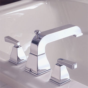 American Standard 2555.900.295 Town Square Deck-Mount Tub Filler - Satin Nickel  (Pictured in Chrome)