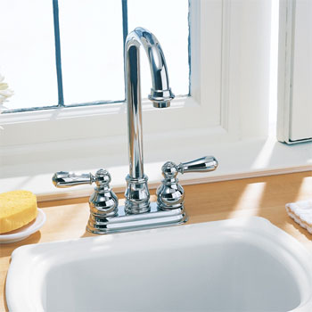 American Standard 2770.732.295 Hampton Bar Faucet - Satin Nickel (Pictured in Chrome)