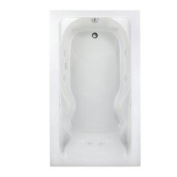 American Standard 2774.018W.020 Cadet Whirlpool w/Hydro Massage - White