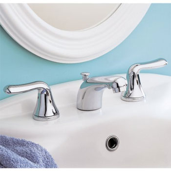American Standard 3875.503.002 Colony Soft Widespread Lavatory Faucet - Satin Nickel (Pictured in Chrome)