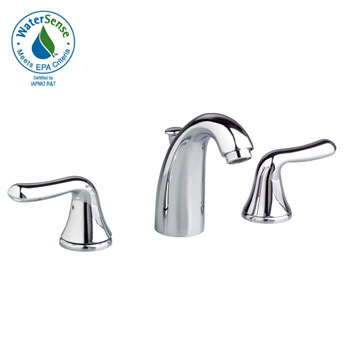 American Standard 3885F Cadet Two-Handle Widespread Lavatory Faucet - Chrome