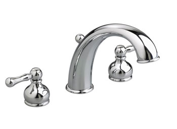 American Standard 3940.000.008 Iris Deck-Mount Tub Filler - Polished Nickel (Pictured in Chrome)