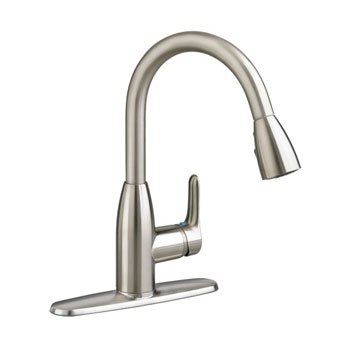 American Standard 4175.300.075 Colony Soft Pull Down Kitchen Faucet - Stainless Steel