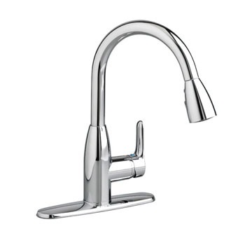 American Standard 4175.300.002 Colony Soft Pull Down Kitchen Faucet - Chrome