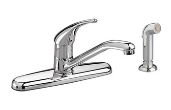 American Standard 4175.501.002 Colony Soft Single-Control Kitchen Faucet - Chrome