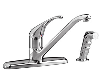 American Standard 4205.000.002 Reliant+ Single-Handle Kitchen Faucet - Chrome