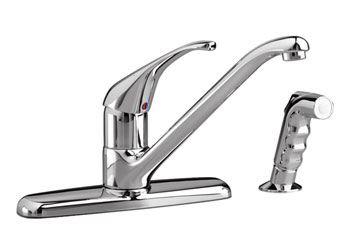 American Standard 4205.001.002 Reliant+ Single-Handle Kitchen Faucet - Chrome