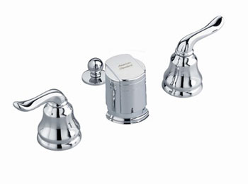 American Standard 4508.400.295 Princeton Fixture-Mounted Bidet Fitting - Satin Nickel (Pictured in Chrome)