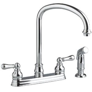 American Standard 4771.732.002 Hampton Top-Mount Kitchen Faucet- Chrome