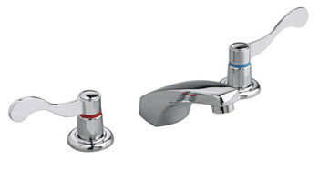 American Standard 4800.000.002 Heritage Widespread Lavatory Faucet - Polished Chrome