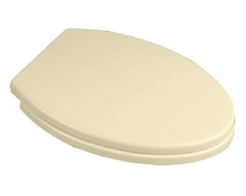 American Standard 5216.110.021 Tropic Luxury Elongated Toilet Seat - Bone