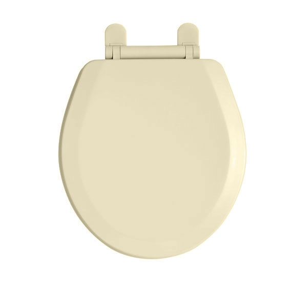 American Standard 5282.011.021 EverClean Round Front Toilet Seat - Bone
