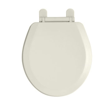 American Standard 5282.011.222 EverClean Round Front Toilet Seat - Linen