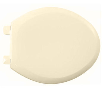 American Standard 5321.110.021 EverClean Elongated Toilet Seat with Slow Close Snap-Off Hinges - Bone