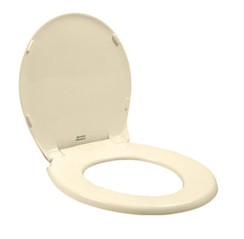 American Standard 5322.011.021 Rise and Shine Round Front Toilet Seat - Bone
