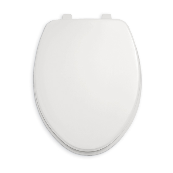 American Standard 5324.019.222 Rise and Shine Elongated Toilet Seat and Cover - Linen (Pictured in White)