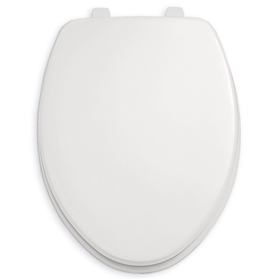 American Standard 5325.024.021 Rise And Shine Elongated Toilet Seat and Cover - Bone (Pictured in White)