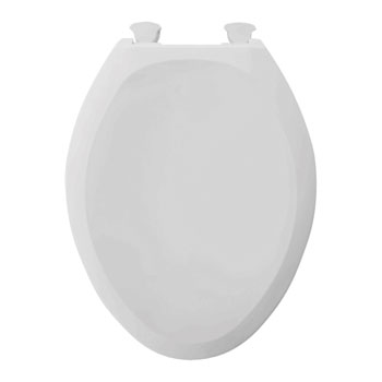 American Standard 5330.010.020 Champion Round Front Slow Close Toilet Seat - White