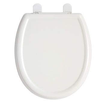 American Standard 5345.110.020 Cadet 3 Round Front Slow Close Toilet Seat with EverClean Surface - White