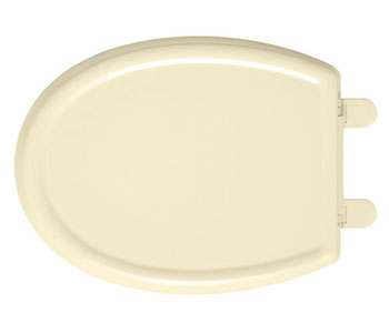 American Standard 5350.110.021 Cadet-3 Elongated Slow Close Toilet Seat with EverClean Surface - Bone