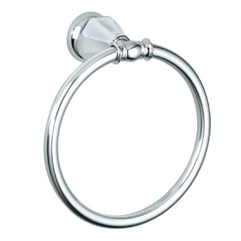 American Standard 6028.190.002 Dazzle Towel Ring - Chrome