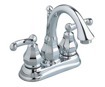American Standard 6028.201.295 Dazzle Centerset Lavatory Faucet - Satin Nickel (Pictured in Chrome)